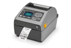 Zebra ZD620 ZD62142-D1EL02EZ DT drukarka etykiet, LCD, 203 dpi, USB, USB Host, Serial , LAN, 802.11, BT, peeler ROW