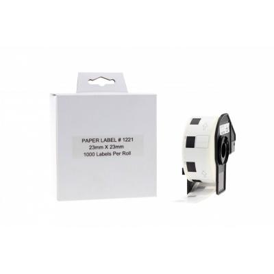 Brother zamiennik DK-11221, 23mm x 23mm, etykiety papierowe