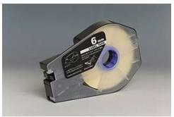 Taśma zamiennikCanon / Partex M-1 Std / M-1 Pro, 6mm x 30m, kazeta, biały