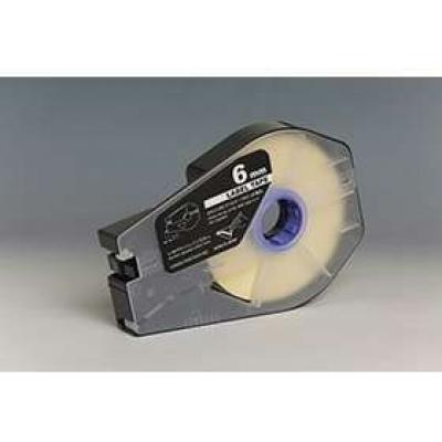Taśma zamiennik Canon / Partex M-1 Std / M-1 Pro, 6mm x 30m, kazeta, biały