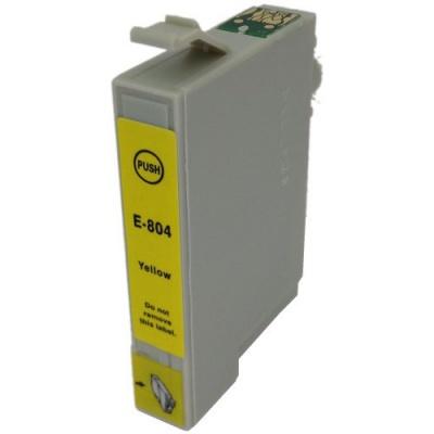 Epson T0804 żółty (yellow) tusz zamiennik