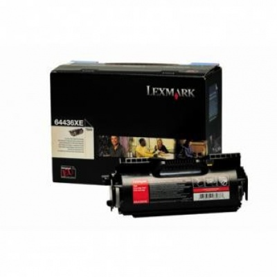 Lexmark 64436XE czarny (black) toner oryginalny