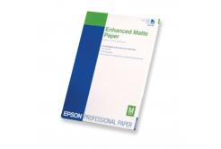 Epson S041718 Enhanced matowye Paper, biały, 250 szt., drukowanie atramentowe, A4, 192 g/m2