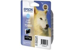 Epson T09654010 jasno błękitny (light cyan) tusz oryginalna, prošlá expirace