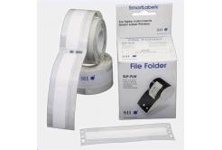 Seiko štítky na pořadače - biała, 14x87mm, 130ks/rolka