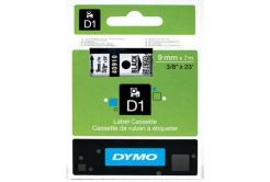 Dymo D1 40910, S0720670, 9mm x 7m, czarny druk / przezroczysty podkład, taśma oryginalna