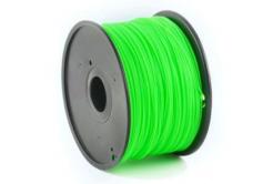 GEMBIRD Tisková struna (filament) ABS, 1,75mm, 1kg, zielona
