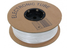 Rurka PVC okrągła BA-60, 6 mm, 200 m, biały