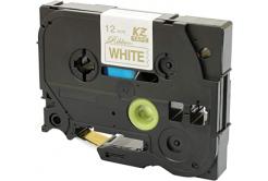 Brother TZ-R234 / TZE-R234, 12mm x 4m, złoty druk / biały podkład, taśma oryginalna
