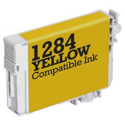 Epson T1284 żółty (yellow) tusz zamiennik