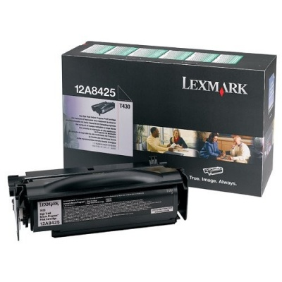 Lexmark 12A8425 czarny (black) toner oryginalny