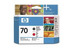 HP 70 C9409A czarna/purpurowa (black/magenta) głowica drukująca oryginalna
