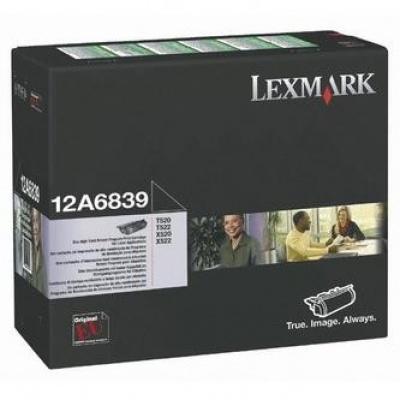 Lexmark 12A6839 czarny (black) toner oryginalny