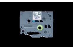Brother TZ-MQE31 / TZE-MQE31, 12mm x 4m, czarny druk / różowy podkład, taśma oryginalna