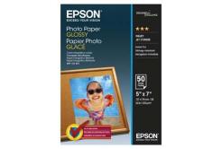 Epson S042545 Glossy Photo Paper, papier fotograficzny, błyszczący, biały, 13x18cm, 200 g/m2, 50 szt.