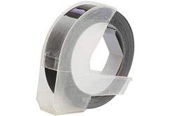 Taśma zamiennik Dymo S0898130, 9mm x 3m, biały druk / biały podkład