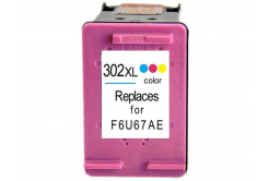 HP 302XL F6U67AE kolorowa (color) tusz zamiennik