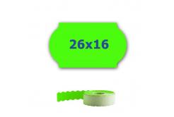 Cenové etikety do kleští, 26mm x 16mm, 700ks, signální zelené