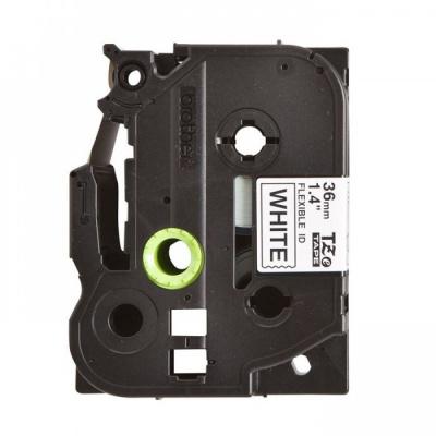 Taśma zamiennik Brother TZ-FX261 / TZe-FX261, 36mm x 8m, flexi, czarny druk / biały podkład