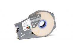 Partex PROMARK-PL120CN9, bílá samolepicí taśma,12mmx30m