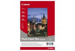 Canon Photo Paper Plus Semi-Glossy, papier fotograficzny, półbłyszczący, satyna, biały, A4, 260 g/m2, 20
