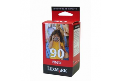 Lexmark 90 12A1990E foto kolorowa (color) tusz oryginalna