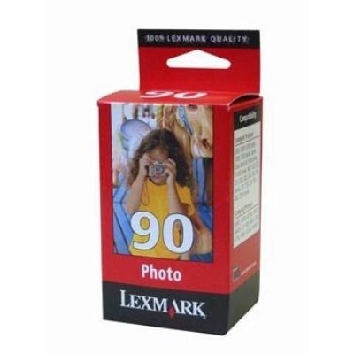 Lexmark č. 90 12A1990E foto kolorowa tusz oryginalna