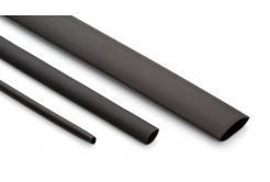 Partex rurka termokurczliwa HSDW 3 -6, 3:1, 2,0-6,0 mm, 1,2 m, czarny