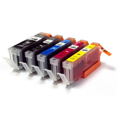 Canon CLI-551 Bk, C,M,Y + PGI-550Bk multipack tusz zamiennik