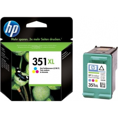 HP 351XL CB338EE kolorowa tusz oryginalna