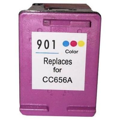 HP 901XL CC656A kolorowa tusz zamiennik