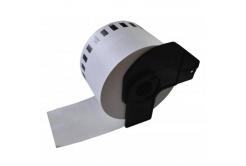 Brother DK-22205F, 62mm x 30,48m, biała, film, etykiety papierowe zamiennik