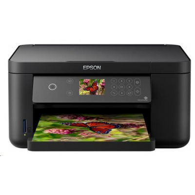 Epson Expression Home XP-5100, A4, 1200x4800 dpi, 3in1, 33ppm, CIS, 1200x2400 dpi, USB, Wi-Fi Direct, LAN