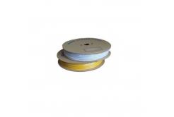 Popisovací hvězdicová PVC bužírka H-25Z, vnitřní průměr 4,0mm / průřez 2,5mm2, żółty, 80m