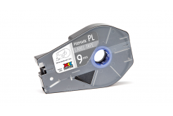 Partex PROMARK-PL090CN8, stříbrná samolepicí taśma, 9mm, 27m