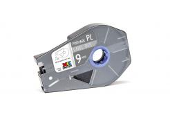 Partex PROMARK-PL090CN8, srebrna taśma samoprzylepna, 9mm, 27m