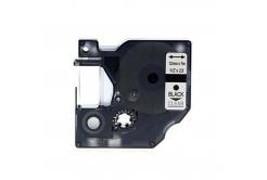 Taśma zamiennik Dymo 45010, S0720500, 12mm x 7m czarny druk / przezroczysty podkład