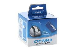 Dymo 99018, S0722470, 190mm x 38mm, białe etykiety papierowe oryginalne