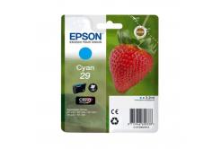 Epson T29824022, T29 błękitny (cyan) tusz oryginalna