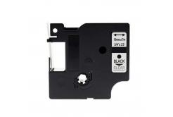 Taśma zamiennik Dymo 45800, S0720820, 19mm x 7m, czarny druk / przezroczysty podkład