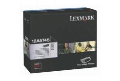 Lexmark 12A5745 czarny (black) toner oryginalny