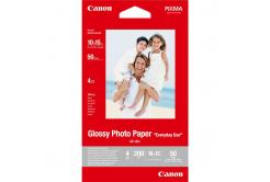 """Canon GP-501 Glossy Photo Paper, papier fotograficzny, błyszczący, biały, 10x15cm, 4x6"""", 210 g/m2, 50 szt., 0775B081"""