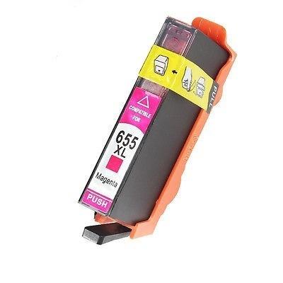 HP 655XL CZ111A purpurowy (magenta) tusz zamiennik