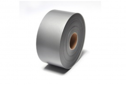 3M 7848 Materiały do drukarek etykiet, matowy, srebrny/czarny,  120 mm, 1 m