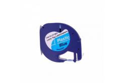 Taśma zamiennik Dymo 59426, S0721600 / S0721650, 12mm x 4m, czarny druk / niebieski podkład