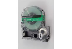 Epson LC-SD6GW, 6mm x 8m, biały druk / zielony podkład, taśma zamiennik