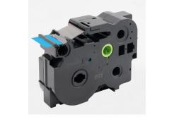 Taśma zamiennik Brother TZ-FX561 / TZe-FX561, 36mm x 8m, flexi, czarny druk / niebieski podkład