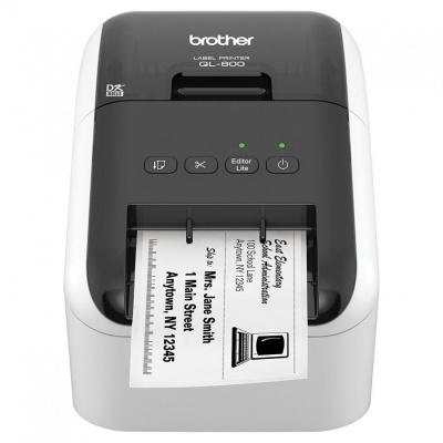 Brother QL-800 QL800YJ1 drukarka etykiet