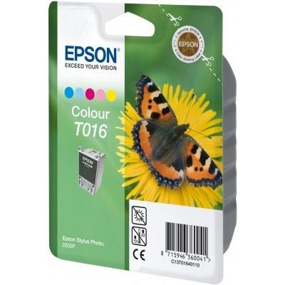 Epson T016401 kolorowa tusz oryginalna