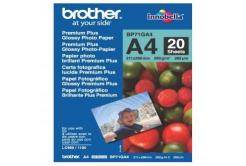 Brother BP71GA4 Glossy Photo Paper, papier fotograficzny, błyszczący, biały, A4, 260 g/m2, 20 szt.